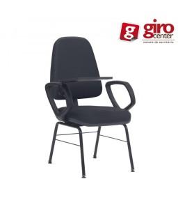 Cadeira audium Universitária prancheta escamoteável