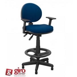 Cadeira Executiva Wind Tela Base Cromada