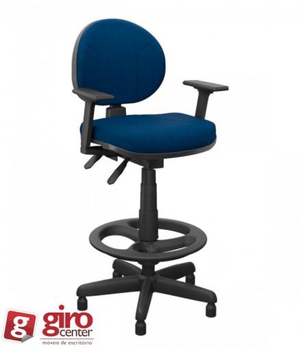 Cadeira Caixa eSocial Operativa Ergonômica Backsystem Backita
