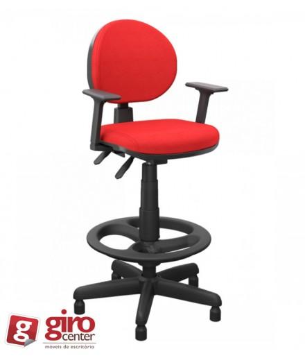 Cadeira Caixa Operativa Plus Aro Evolution Costura Dupla Lateral