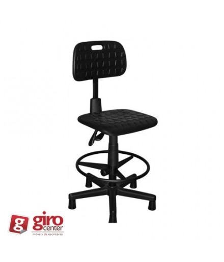 Cadeira Caixa Industrial Ergonômica P.U Sem Braço | Back System