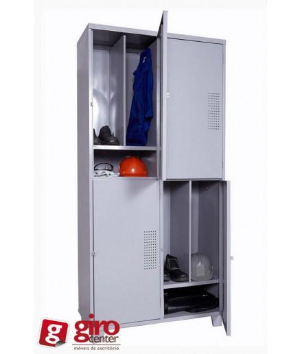 Roupeiro de Aço Insalubre 4 portas em Oferta | Girocenter SP