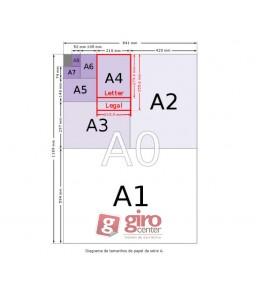 MAPOTECA 5 GAVETAS PARA FOLHAS A-1 MAP 05 . W3