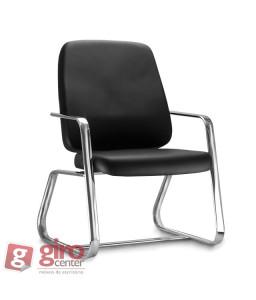 Cadeira para Obeso Fixa Cromada Maxxer 150 Kg Frisokar