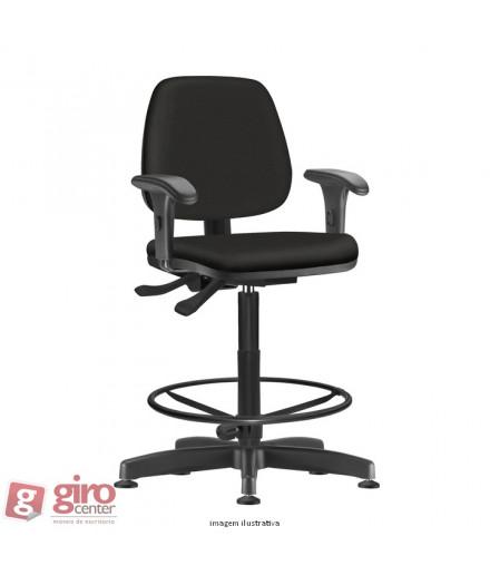 Cadeira Job Diretor Caixa Alta Ergonômica com Braços