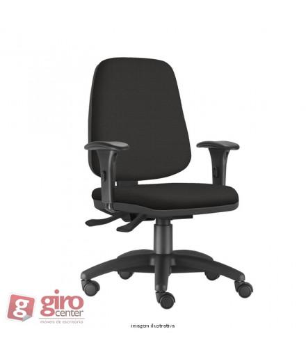 Cadeira Job Diretor - Base Arcada Nylon - Rodízios e Braços PP