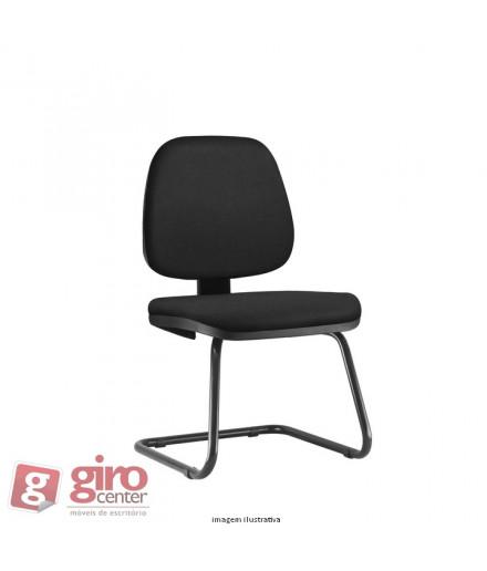 Cadeira Job Fixa para Salas de Reunião com braços
