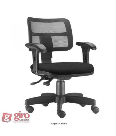 Cadeira ZIP Operativa em Tela - Ergonomica NR-17 - Base Reta Raio 280mm