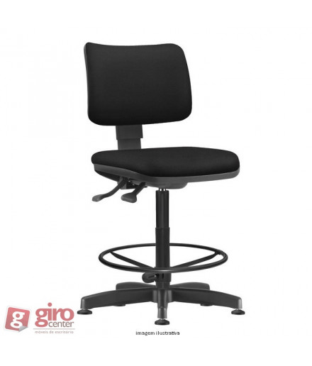 Cadeira Zip Base Caixa Back System II - Estofada