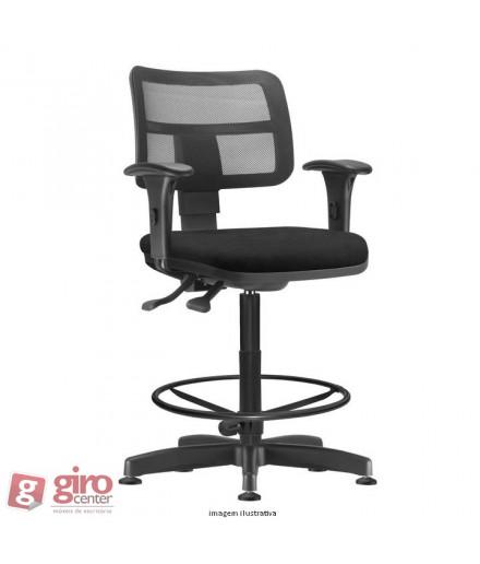 Cadeira Zip Base Caixa Back System II - Com Braço Tela