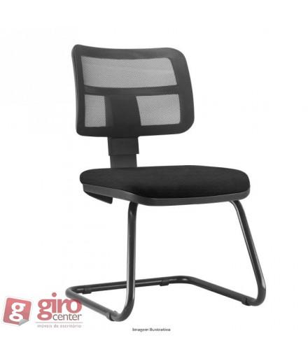 Cadeira Zip Fixa Pés Sky sem Braços - Tela