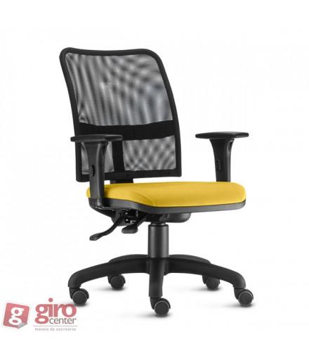 Cadeira Soul Operativa Tela - NR17 - Base Arcada Nylon Preta