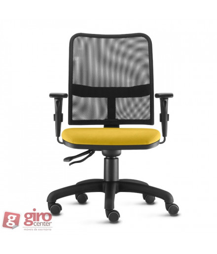 Cadeira Ergonomica em Tela Soul - Base Nylon Arcada