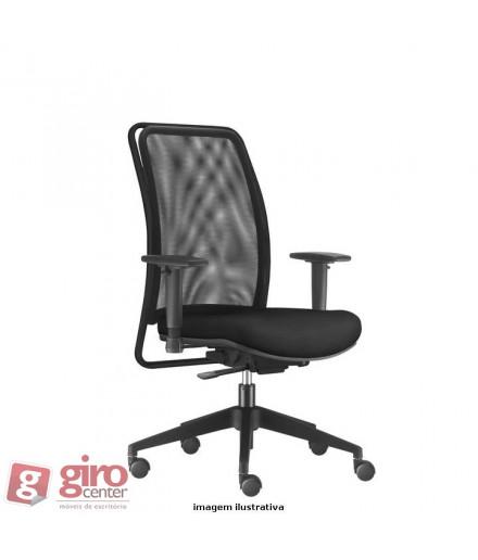 Cadeira Soul Presidente - Base Piramidal Preta