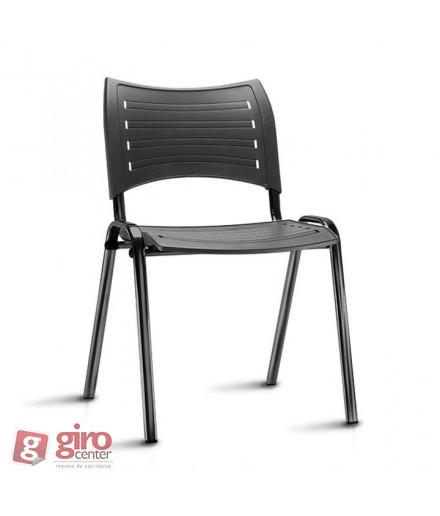 Cadeira Iso Empilhável Preta