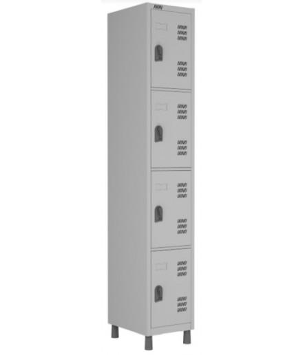 Roupeiro de aço 4 portas Smart W3 Econômico