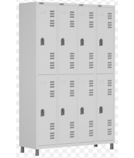 Roupeiro de aço 8 portas G Smart W3 Econômico