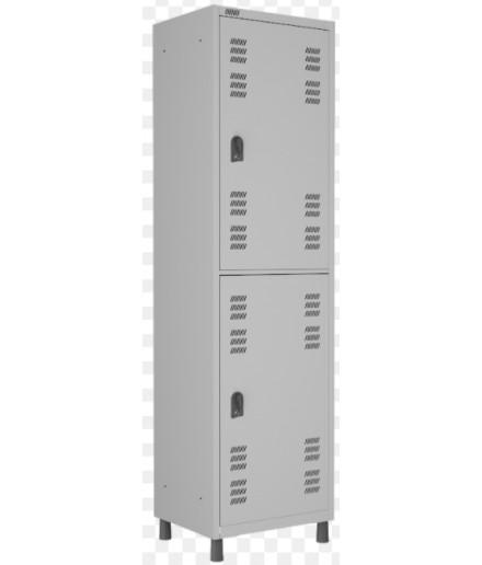 Roupeiro 2 Portas Insalubre Smart Pitão 1820x520x420 mm Atende as Normas NR18 e NR24