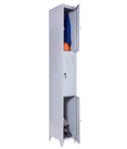 Roupeiro de Aço com 3 Portas para Vestiário Fechadura Chapa 26