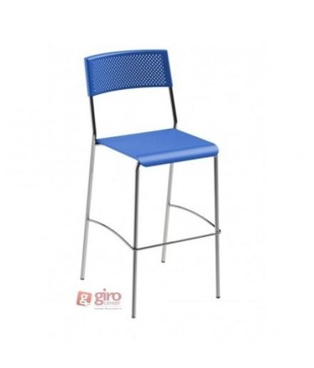 Banqueta Easy Azul - Girocenter Móveis
