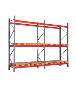 Porta Palete Inicial L-2300 x A-2000 x Lateral 1000 mm | 1200 Kg/Plano
