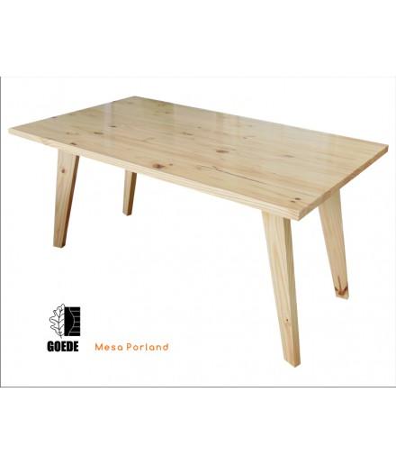 Mesa para Restaurante Natural Incolor 160 x 90mm